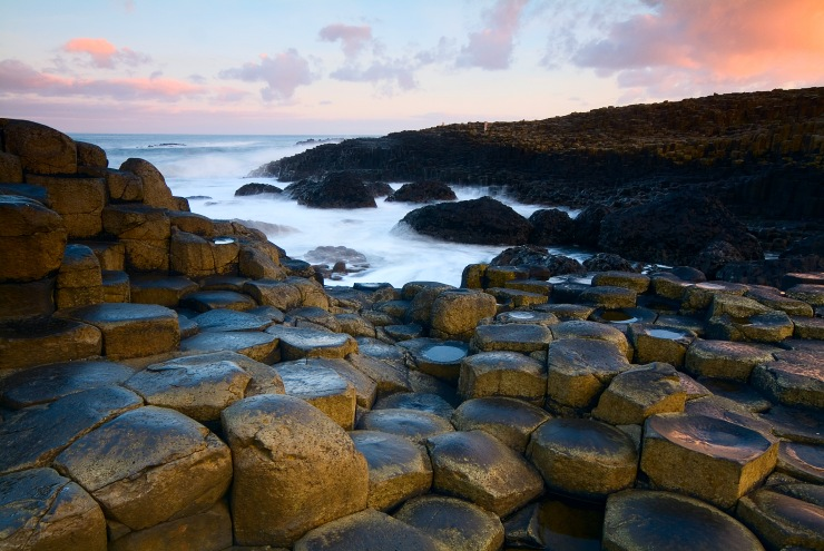 De spectaculaire Giant's Causeway (Foto: Tourism Northern Ireland)